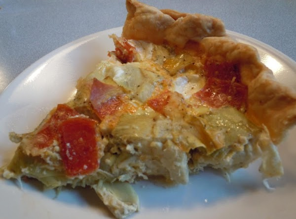 Grandma's Artichoke Pie Recipe