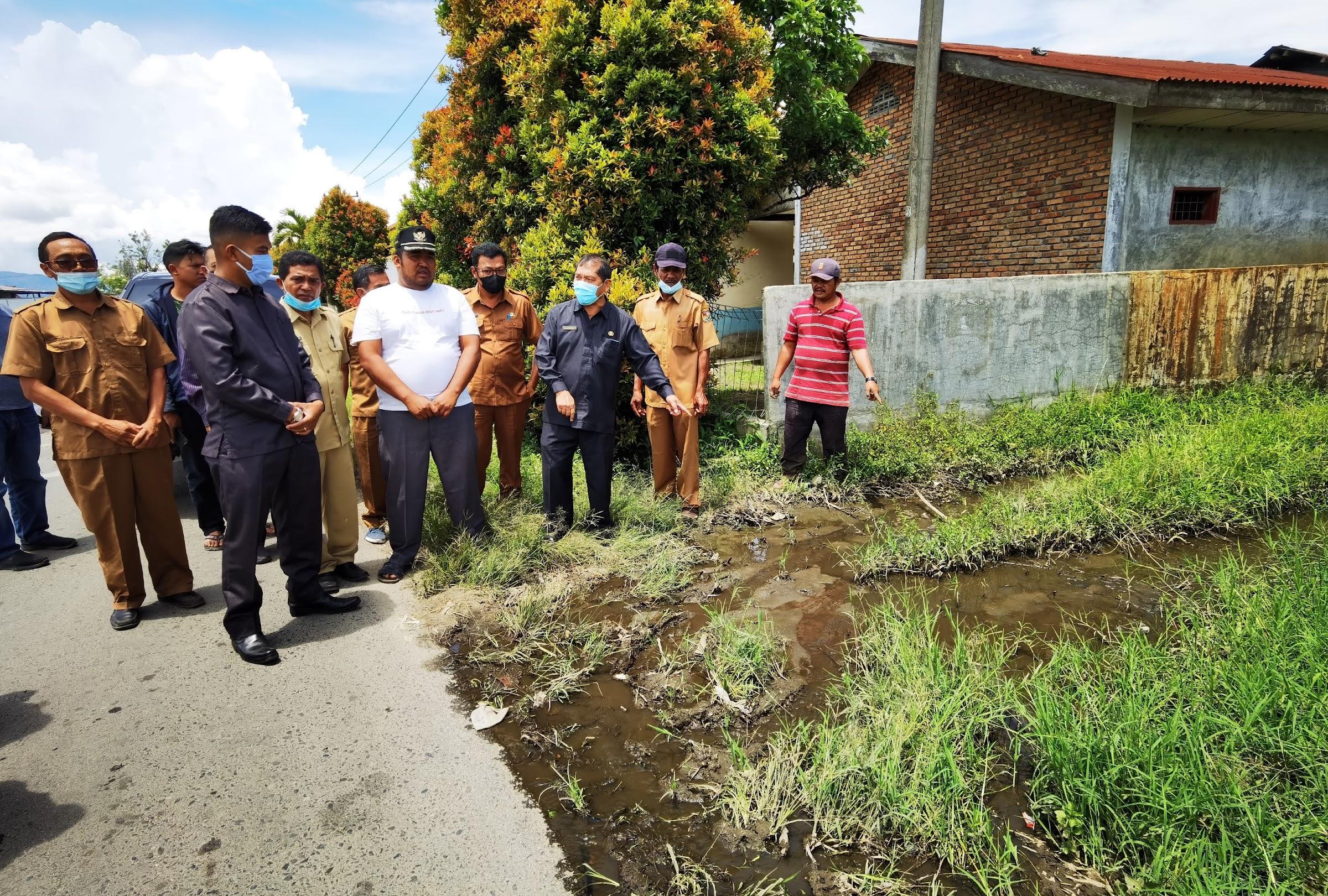 Jelang Akhir Jabatan, Bupati Karo Terkelin Brahmana Respon Laporan Warga Terkait TPA Air Limbah Perusahaan Pandia Farm