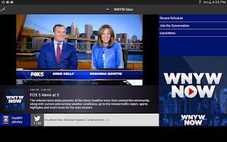 Screenshot of WNYW Now