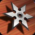 Ninja Shuriken: Darts Shooting icon