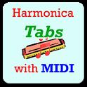 Harmonica Tabs with MIDI (audio) icon