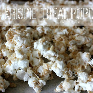 ~Rice Krispie Treat Popcorn!