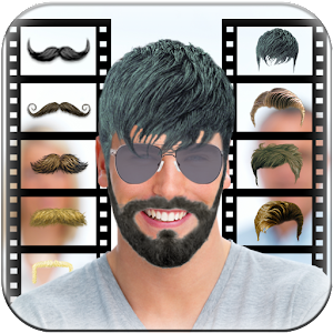 Swell Hair And Mustache Changer Android Apps On Google Play Hairstyles For Men Maxibearus