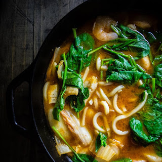 30 Minute Spicy Korean Seafood Stew Recipe