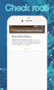 Check Root Status - with SafetyNet by Google - náhled