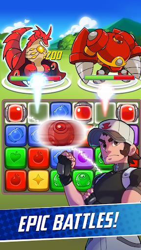 Phoenix Rangers: Puzzle RPG apkpoly screenshots 2