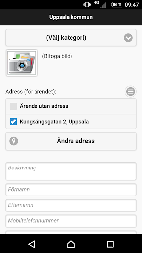 Felanmälan Uppsala kommun app (apk) free download for Android/PC/Windows screenshot