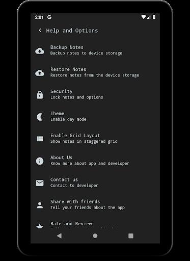 Notes (Material Notepad) 3.1.30 screenshots 14