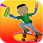 The Lil Skating run ron Icon