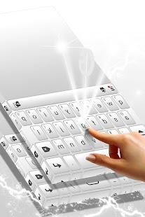 Clean Keyboard Theme - náhled