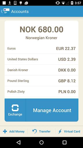 Travel Cash Account