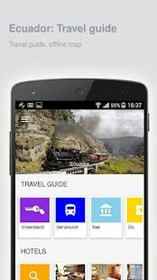 Ecuador: Offline travel guide - náhled