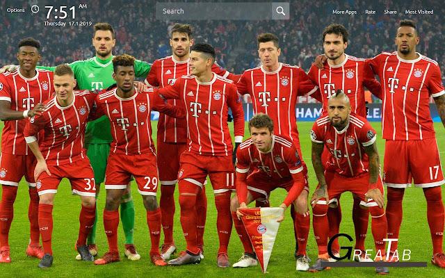Bayern Wallpapers Bayern Theme |GreaTab