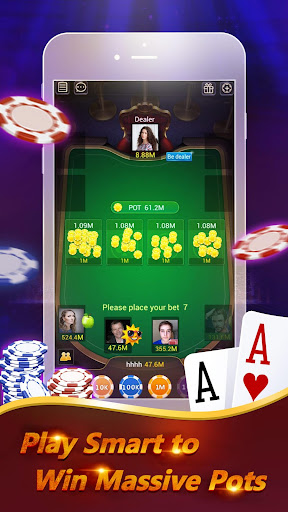 Pocket Poker Pro: One Handed. screenshot 3