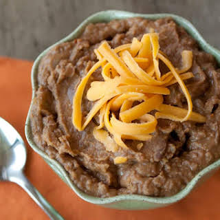 Pressure Cooker Refried Beans.