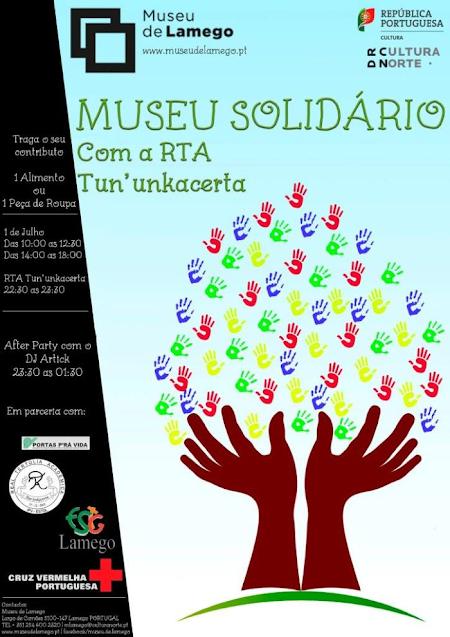 Museu Solidário promove recolha de alimentos e vestuário