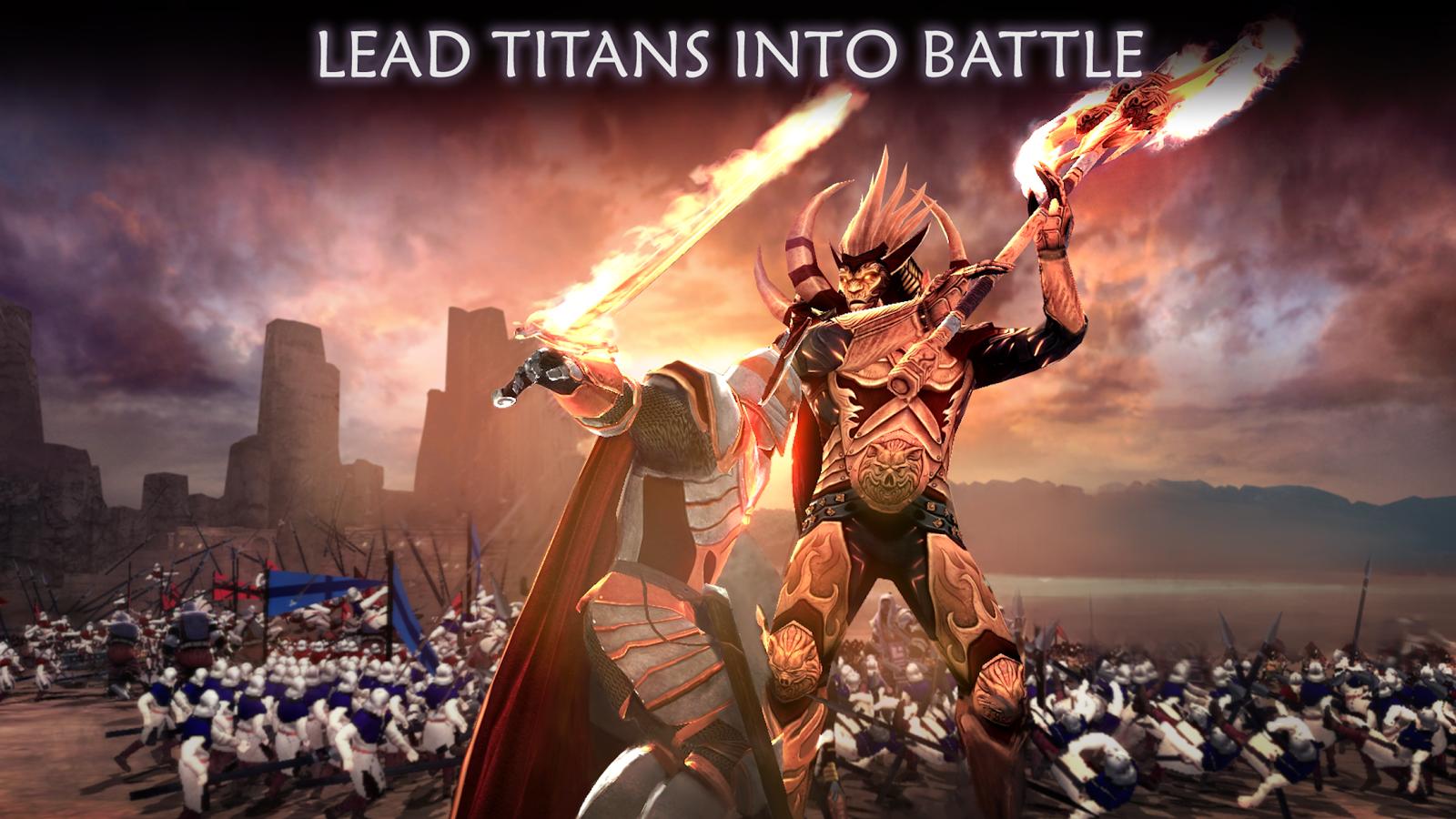 Dawn of Titans- tangkapan layar