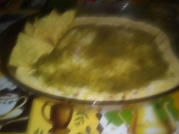 Corn Dip Turned Mexican, Waiting To Be Ate!
