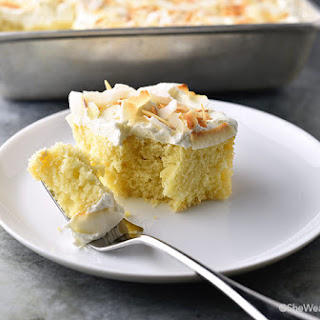 Perfect Coconut Sheet Cake