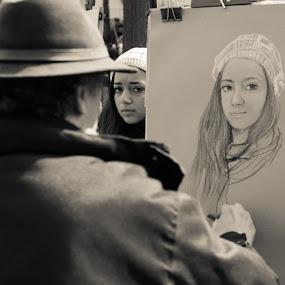 by Ivona Bezmalinovic - People Portraits of Women