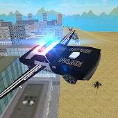 Flying Police Car: San Andreas