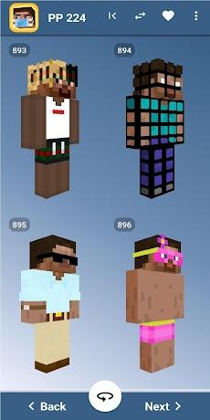 Steve Skins for Minecraft PE - MCPEのおすすめ画像4