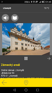 Litomyšl - audio tour- screenshot thumbnail