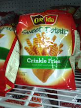 Photo: oh wow even sweet potato comes in crinkle fries.