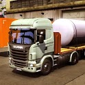 Heavy Truck Driving Simulator 3D: Realistic mobile icon