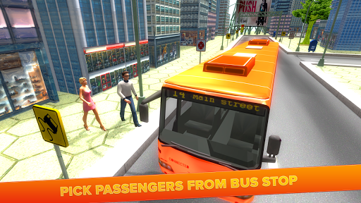City Tourist Bus Driving 3D