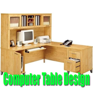 Computer Table Design - náhled