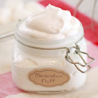 Homemade Marshmallow Fluff.