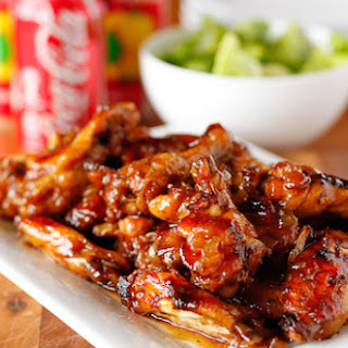 Coca-Cola Baked Chicken Wings