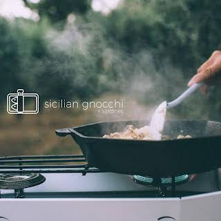 One Pan Sicilian Gnocchi with Sardines.