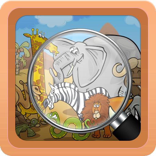 解謎App|Find Differences For Kids LOGO-3C達人阿輝的APP