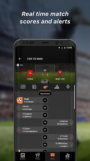 90min - Live Soccer News App  2