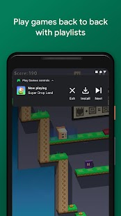 Google Play Игры Screenshot