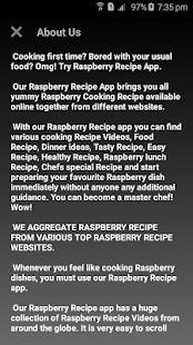 Raspberry Recipes - náhled