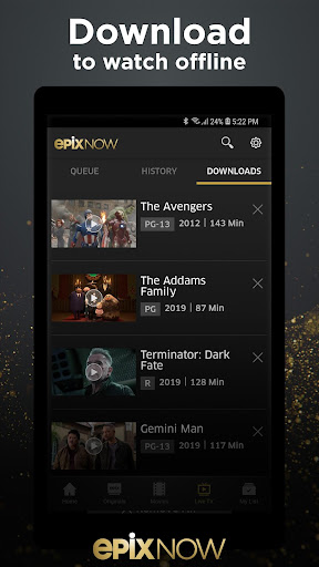 EPIX NOW: Watch TV and Movies screenshot 4