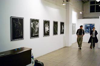 "Photo: © Olivier Perrot 1998 ""Empreintes"" Expo Parson'School Paris 1999"