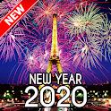 New Year 2020 Wallpaper (Eiffel) icon