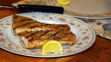 Blackened Grilled Mahi Mahi - Becki's Whole Life