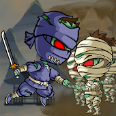 Zombie Ninja vs Mummy