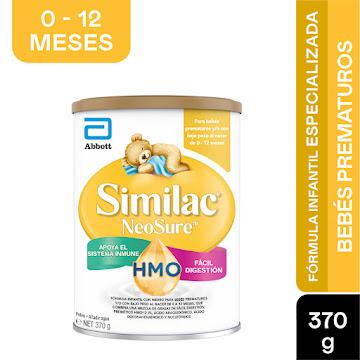 Formula Infantil Similac Prematuros NeoSure Eye Q 0-12 Meses x 370Gr