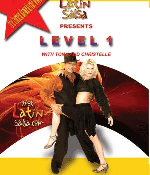Niveau 1 salsa dvd