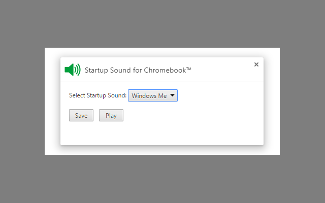 Startup Sound for Chromebook™