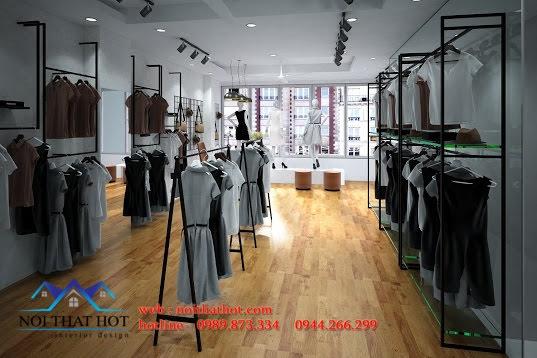Thiết kế shop thời trang nam nữ đẹp