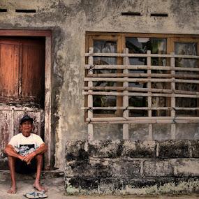 Man from the village by Norbertus Andreanto Photos - News & Events World Events ( man jogjakarta jogja )