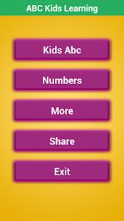ABC Kids Learning: Předškolní děti se učí zdarma - náhled