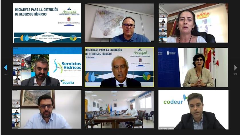 Encuentro virtual impulsado por Asempal y la Diputación Provincial